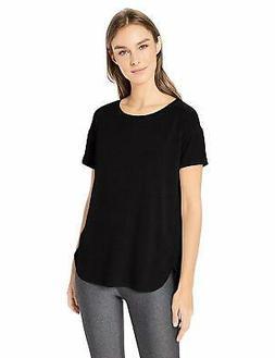 Amazon Essentials Women's Studio Relaxed-Fit Crewneck T-Shir