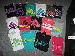 ADIDAS Women's T-Shirts,Cotton & Polyester. all sizes, NWT,