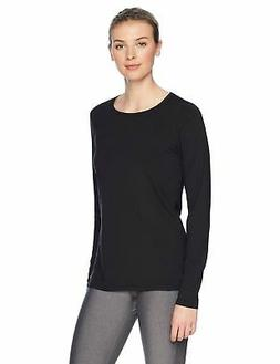 Amazon Essentials Women's Tech Stretch Long-Sleeve T-Shirt L
