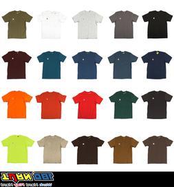 Carhartt Men's T-shirt WorkWear K87 Pocket Basic Heavyweight